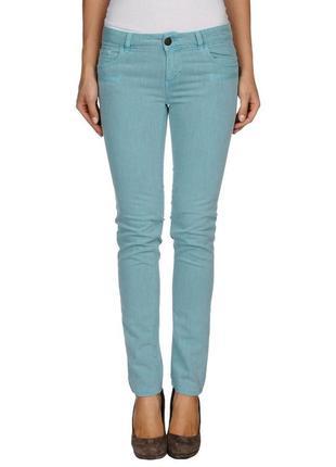 Джинсовые брюки twin-set, р.xxs-xs. новые