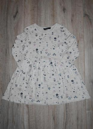 Платье с длинным рукавом george 4-5 лет/104-110 см