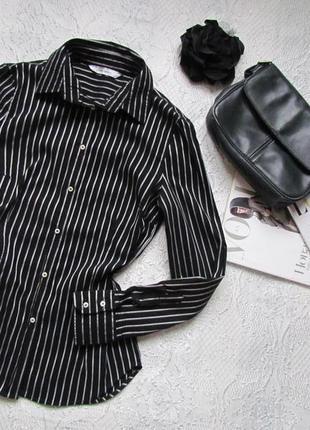 Блузка-рубашка в полоску /zara/ размер m