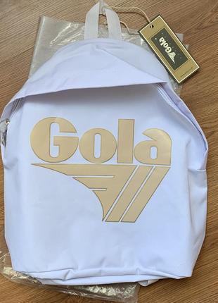 Белый классический рюкзак gola