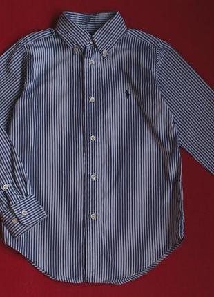 Рубашка ralph lauren для мальчика 5 лет(полномерная,может быть до 6)