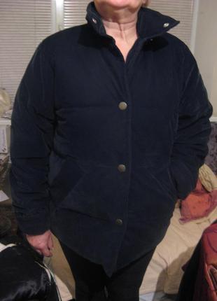 Куртка зимняя пуховик оверсайз натуральный пух zara оригинал размер l новая