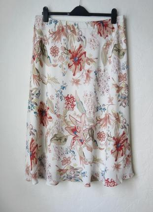 Шифоновая юбка на подкладке