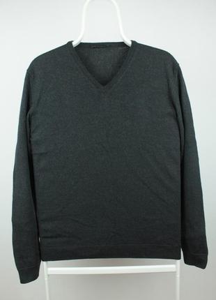 Шикарный шерстяной свитер roberto collina made in italy размер м