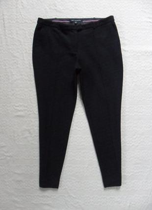 Классические зауженые черные штаны брюки со стрелками next, 16 размер.