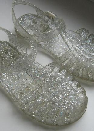 Блестящие мыльницы сандали босоножки next