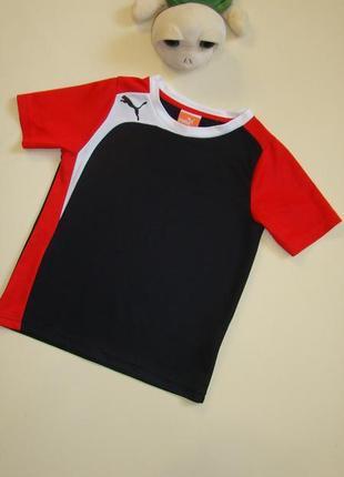 Классная футболка puma оригинал 6-7 лет