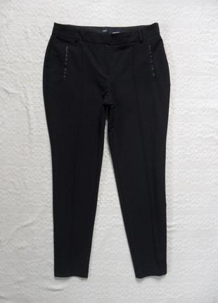 Классические черные штаны брюки со стрелками next, 12 размер.