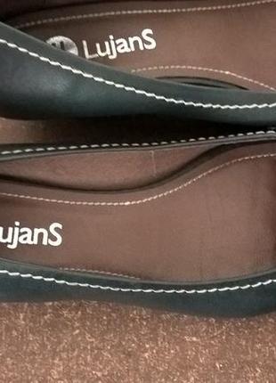 Кожаные туфли-боссоножкт