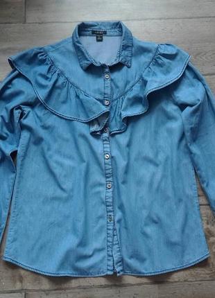 Большой выбор блузок 👔сорочек. стильная джинсовая сорочка amisu