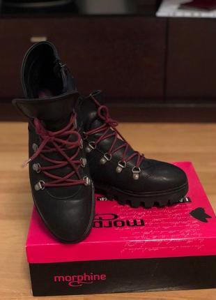 Женские кожаные ботинки ( германия)