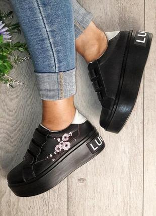 Кроссовки на платформе1 фото
