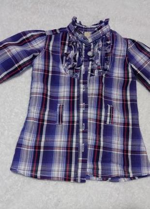 Нарядная рубашка для девочки baby girl