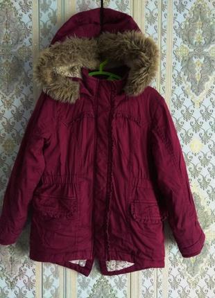 Куртка парка на 5-6лет