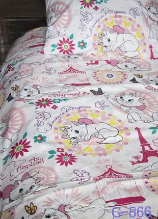 Комплект постельного белья детский полуторный бязь пакистан