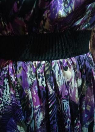 Платье летнее 100% шолк раз.s (8/10)3 фото