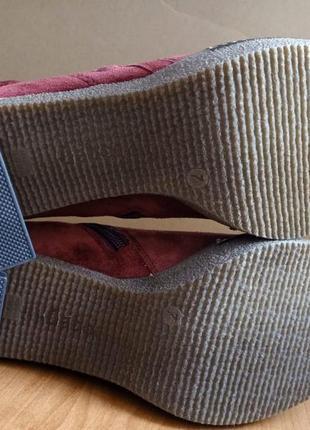 Женские замшевые полусапожки ботинки бренд gabor3