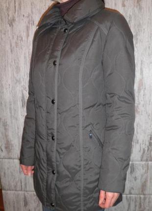 Тёплый удобный пуховик куртка the outerwear c&a размер 38 качествво