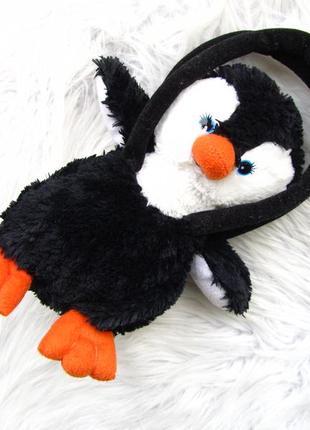 Сумка игрушка   в виде пингвина