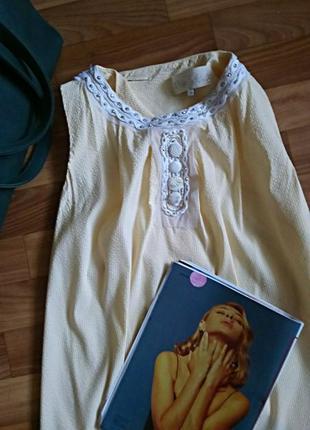 Натуральная рубаха, лимитированная блуза, вырез снизу спинки, с-м