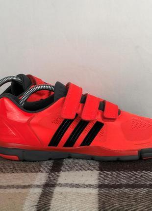 Спортивные кроссовки на липучках adidas adipure original 40 run air