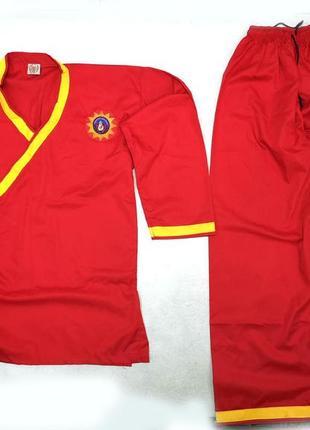 Кимоно красное ipsi ikatan pencan indonesia, куртка-штаны, как новое!