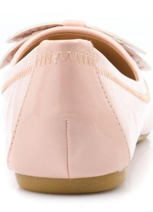 Мегаскидка!! роскошные лакированные нюдовые балетки plato, р-ры 37, 407 фото