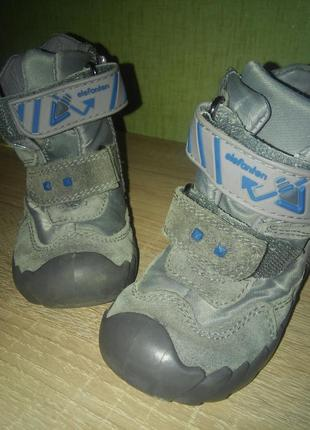 Детские зимние сапоги термо ботинки elefanten на ребенка р.20 13см