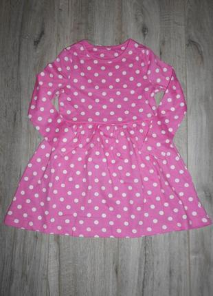 Платье с длинным рукавом george 2-3 года/92-98 см