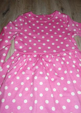 Платье с длинным рукавом george 2-3 года/92-98 см2