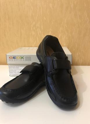 Крутые туфли -мокасины geox