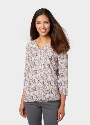 Блуза bonita в цветочный принт