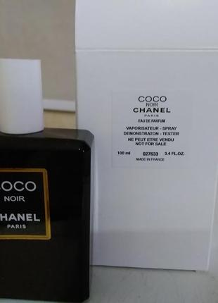 Chanel coco noir 100 мл. тестер демонстрационный!франция