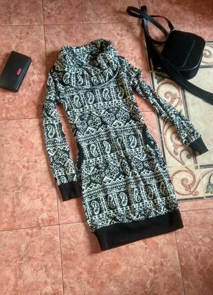 Платье до колена new look с карманами