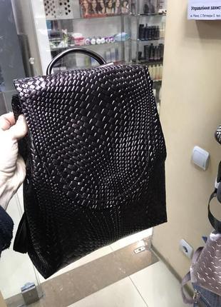 Кожаный рюкзак рюкзак кожаный рюкзак-сумка