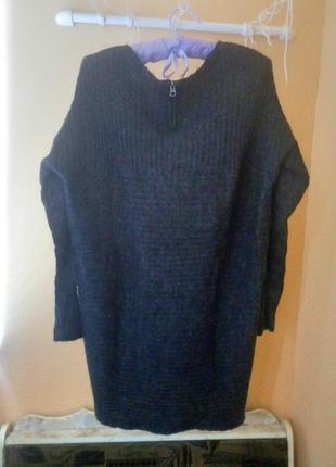 Длинный свитер only.