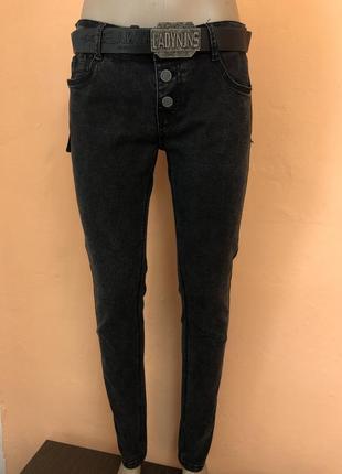 Темно-серые джинсы распродажа