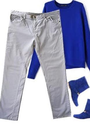 Вельветовые джинсы микро вельвет размер 48-50