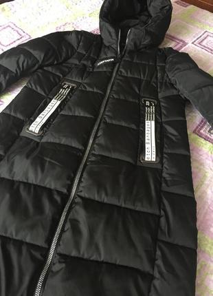 Классная тёплая куртка пальто!!!
