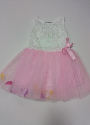 Платье с жемчужинами