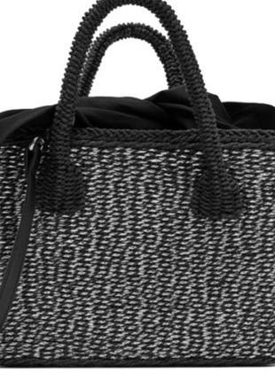 Солонинная сумка zara