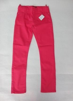 Очень красивые брюки супер скинни для девочки 10лет