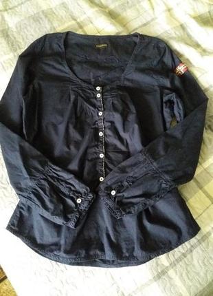 Стильная блузка рубашка naparijri geographic