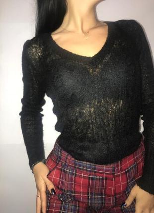 Polo свитер кардиган кофта пулловер поло с длиным рукавом натуральный  xs 34