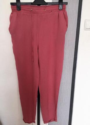 Лёгкие зауженные брюки