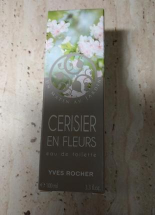 "Скидка 65% туалетная вода ""вишня в цвету"" 100 мл yves rocher3"
