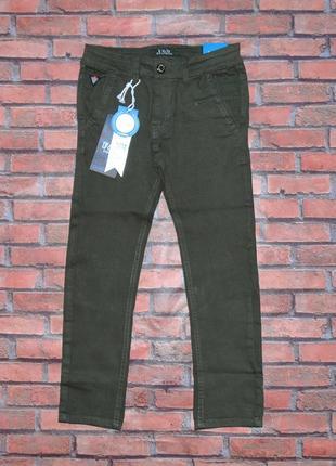 Стильные  коттоновые брюки для мальчика р. 6-16 лет. венгрия