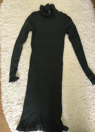 Красивое платье резинка amisu