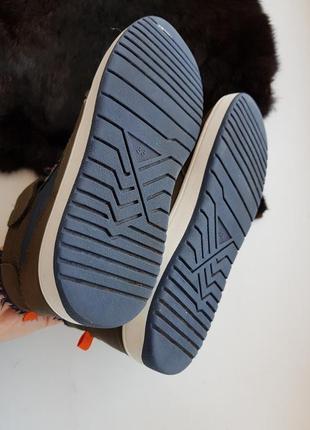 Высокие кеды 33р.,кроссовки,хайтопы,ботинки на меху h&m 21,5 см.9
