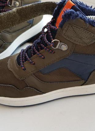 Высокие кеды 33р.,кроссовки,хайтопы,ботинки на меху h&m 21,5 см.5